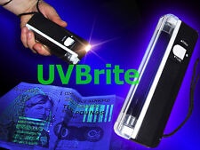 2-in-1 LUCE UV PORTATILE PALMARE ULTRAVIOLETTI SOLDI CONTRAFFATTI Checker & Torch