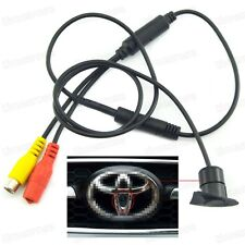 Wide Degree Car Front View Camera Logo Embedded for Toyota with CCD Waterproof
