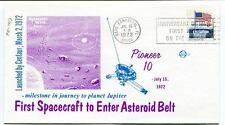 1972 Pioneer 10 First Spacecraft Asteroid Belt Centaur Jupiter Canaveral USA SAT