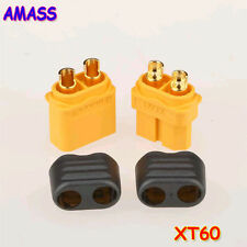 50pairs Amass XT60+ Plug Connector With Sheath Housing 50 Male 50 Female