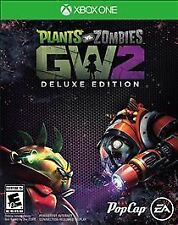 Plants vs. Zombies: Garden Warfare 2 -- Deluxe Edition (Microsoft Xbox One, 2016