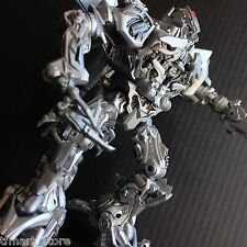 Custom Transformers Movie Leader Class Megatron Silver Metallic Paint