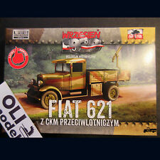 1/72 Polish Fiat 621 Army Truck w/AA Gun - First to Fight 017