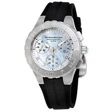 TechnoMarine Cruise Medusa Chronograph White  Dial Ladies Watch 115086