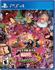 Ultimate Marvel vs Capcom 3 PS4 Physical Game Disc Brand New Sealed