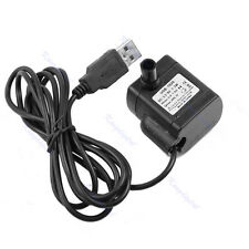 HOT DC 3.5V-9V 3W USB Submersible Fountain Pond Water Pump Aquarium Fish Tank