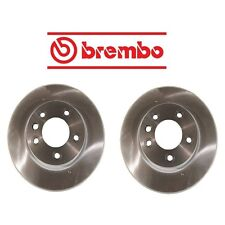 NEW Porsche Cayenne VW Touareg Set of Left And Right Disc Brake Rotors Brembo