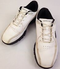 Nike Air Rival Mens Golf Shoes 10.5 Size 2011 Black White Leather 484764-100