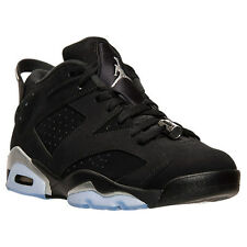 NIKE AIR JORDAN 6 VI RETRO LOW SZ 10.5 BLACK SILVER CHROME WHITE 304401-003