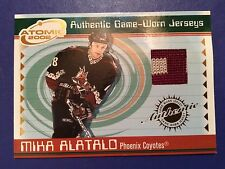 2001-02 Pacific Atomic Game Worn Jersey #42 Mika Alatalo
