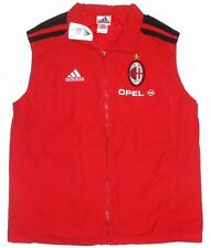 rare AC MILAN 2001-02 Player Issue Padded Training Gilet Jacket not shirt *BNIB*