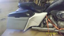 """Harley Davidson stretched extended side covers 6"""" bagger Touring FLH 2014 - 17"""