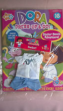Dora the Explorer 'Dress Up and Go' Magazine and Clothes:  Doctor!