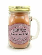 Banana Nut Bread Scented Mason Jar Candle by Our Own Candle Company