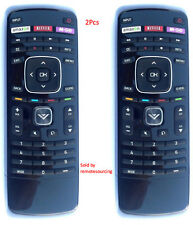 2Pcs Vizio XRT112 LED Smart Internet TV Remote with Amazon, Netflix & M-GO Keys
