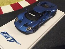 1/43 Ford GT Liquid Blue Detroit Auto Show True Scale Miniatures Ford Exclusiv