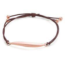 Deep Red Real Leather Gold Leaf Bracelet