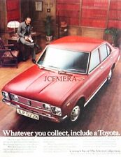 1972 Toyota 'Carina 1600' Motor Car Advert - Original Auto Print AD