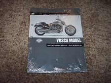 2002 Harley Davidson VRSCA V-Rod Parts Catalog Manual Book