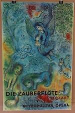 Marc Chagall The Magic Flute (Die Zauberflote) Mourlot Lithograph