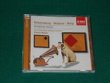 Berg, Schonberg, Webern Orchestral works