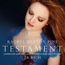 Testament: Complete Sonatas & Partitas for Solo Violin by J. S. Bach, New Music