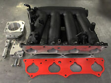 2012-15 Civic Si Black RBC Intake Manifold Swap Kit w/ ZDX Throttle Body adapter