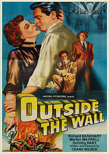 Outside the Wall (Film Noir '50) Richard Basehart, Marilyn Maxwell, Signe Hasso.