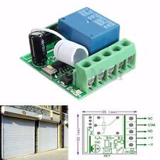 DC12V 10A 1CH Wireless Relay RF Remote Control Switch Receiver Module 433MHz