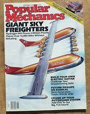 Popular Mechanics September 1990 Giant Sky Freighters Death Valley - Pikes Peak