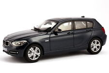 1:43 BMW 1er f20 2011 5 türig 5 Door 125i sport nuit-Bleu Blue-Dealer-Edition