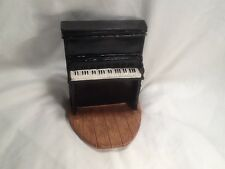 Vintage refurbished Miniature Upright Piano Figurine