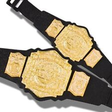 TNA Jakks Set of Two Tag Team Championship Action Figure Belts