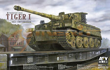 AFV Club 1:35 Scale Tiger I Late (Transport Mode) Plastic Model Kit AF35S25