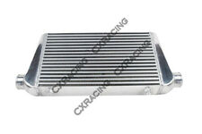 CXRacing 27x11.75x3  Bar & Plate Front Mount Intercooler For BMW E36 Audi TT