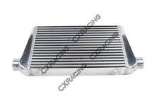 CXRacing 27x11.75x3  Bar & Plate Front Mount Intercooler For BMW E36 Audi TT