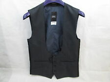"""NEXT TAILORING GREY WAISTCOAT 36"""" WAIST BRAND NEW WITH TAGS."""