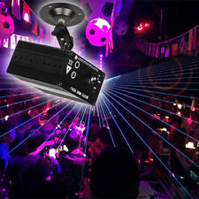 Mini 48 Pattern RGB LED Laser Projector Stage Lighting DJ Disco Party Club Light