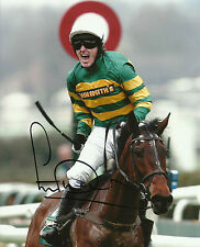 AP McCoy Genuine Hand Signed 10X8 Photo Autograph Grand National Winner COA (A)
