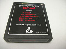 Atari CX-2601 Combat - Tank Tank Pong Invisible Tank  Biplane  Jet Fighter