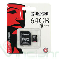 Scheda MicroSD originale KINGSTON 64GB classe10 per Samsung Galaxy S4 I9505