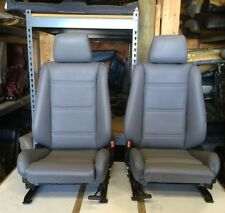 BMW e30 325i/318i Convertible Front Sport Seat Pair 1987-92 Grey  $1400.00