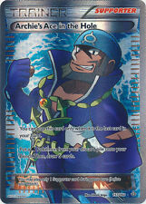 Pokemon Primal Clash Archie's Ace in the Hole - 157/160 - Full Art Card