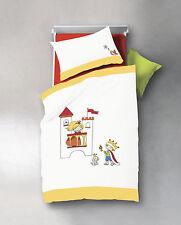 Fleuresse Baby Bettwäsche Prinz & Prinzessin bestickte Perkal 40x60 100x135 neu