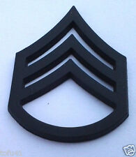 ARMY RANK E6 STAFF SGT (SUBDUED) Military Veteran Collar Hat Pin P12753 EE