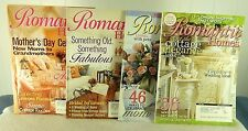 LOT 4 - ROMANTIC HOMES MAGAZINE - MAY-JUNE 2005 & 2006 ISSUE