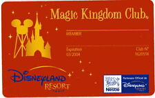 PASS DISNEY MAGIC KINGDOM CLUB NESTLE