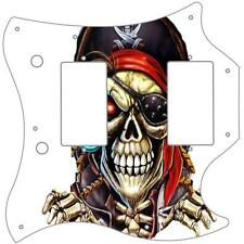 SG Standard Pickguard Custom Gibson Graphic Graphical Guitar Pirate 1 White
