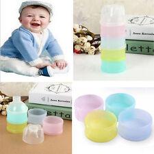 Beweglicher Baby Milk Powder Dispenser Container 4 Schichten Babyernährung