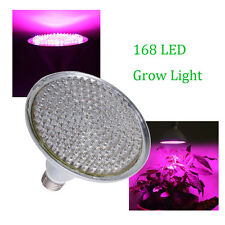E27 168 LED Hydroponic Plant Flower Grow Light Lamp PAR38 Full Spectrum